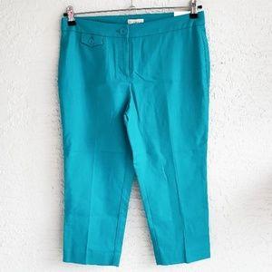 NWT! Ann Taylor LOFT Petites Crop Pants Sz. 6